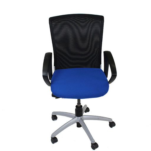 Sedus Chair mesh back with New Blue fabric seat