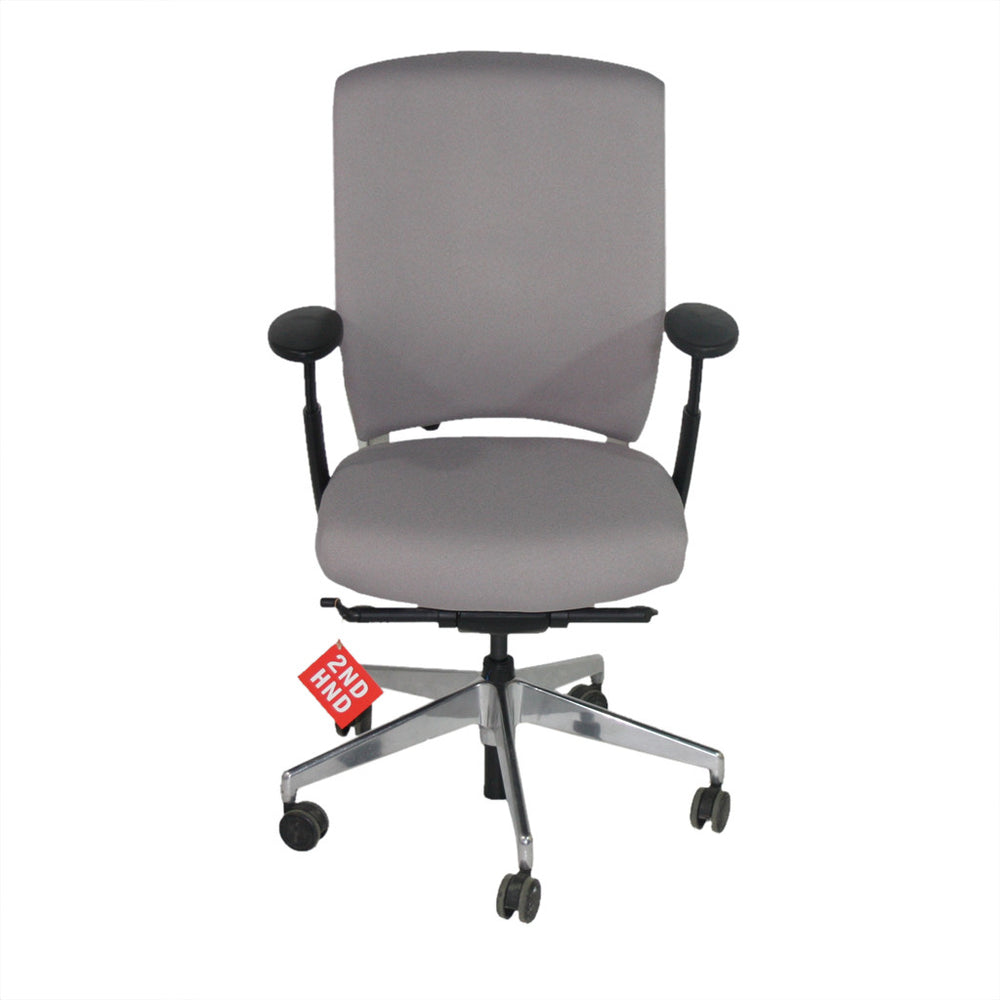 Enigma S21 Alu Framed New Grey Fabric Task Chair