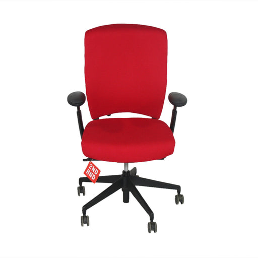 Senator Enigma S21 Black Framed New Red Fabric Task Chair