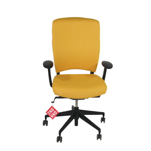 Enigma S21 Black Framed New Yellow Fabric Task Chair