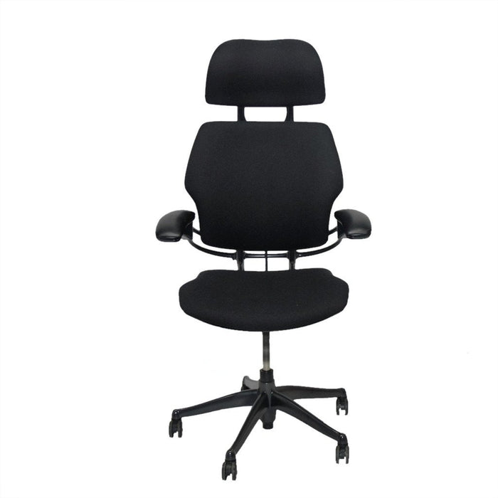 Humanscale Freedom Hi Back Chair with Black Headrest