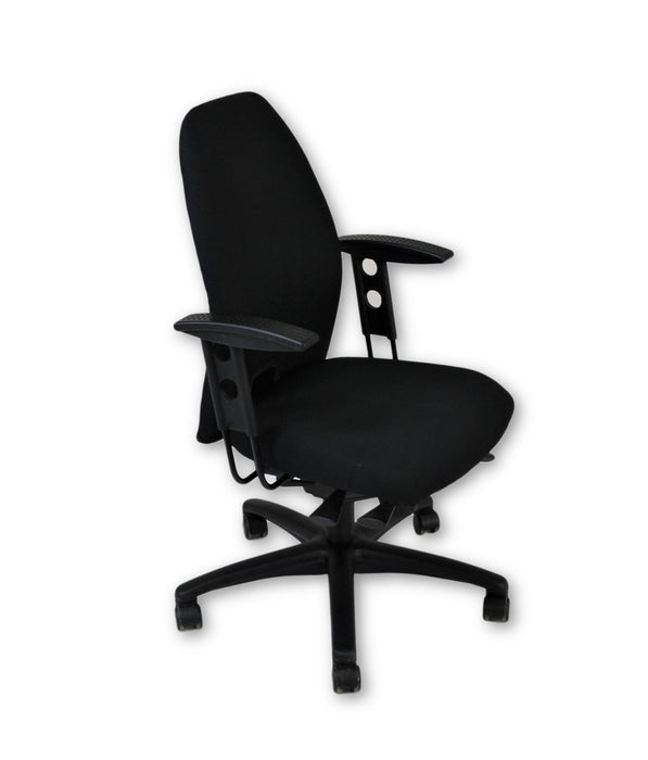 Girsberger New Black Fabric Task chair