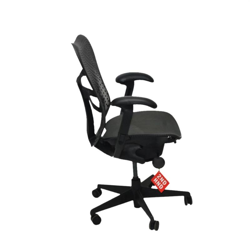 Herman Miller Mirra TriFlex Office Designer Chair Dark with Grey Seat