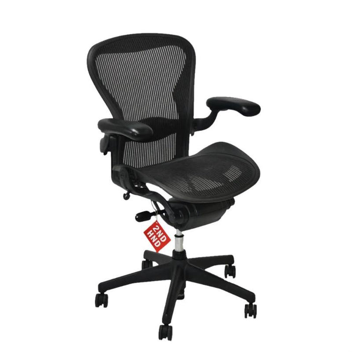 Herman Miller Aeron Chair Size B with Forward Tilt