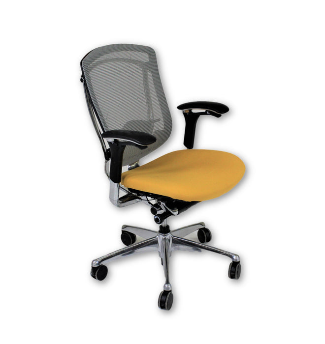 Teknion Contessa new Yellow fabric seat