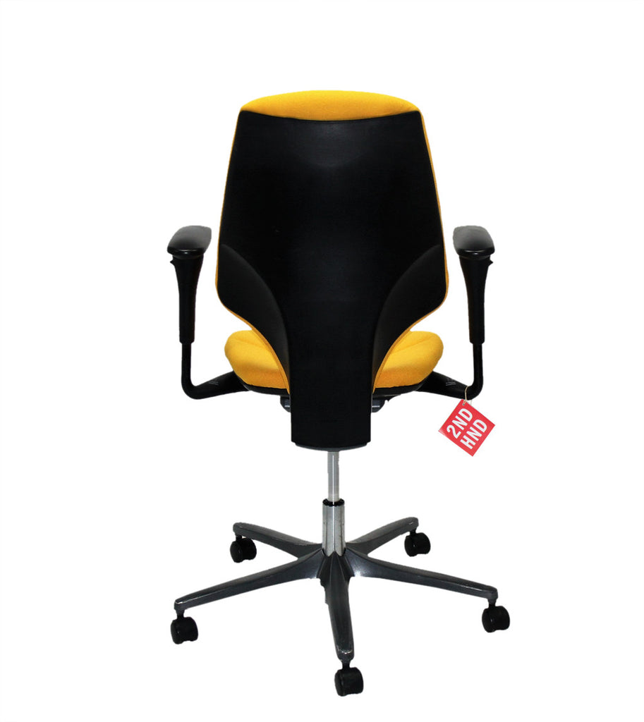 Giroflex G64 Yellow Office Chair