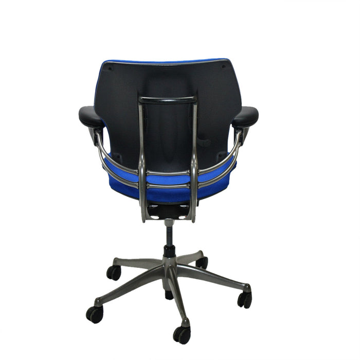 Humanscale Freedom Med Back Chair New Blue Fabric