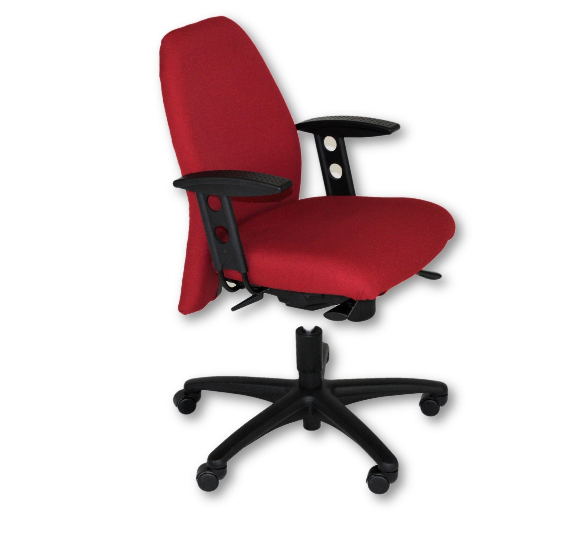 Girsberger New Red Fabric Task chair