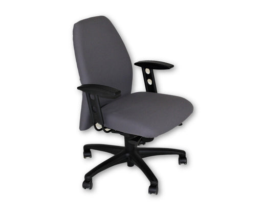 Girsberger New Gray Fabric Task chair