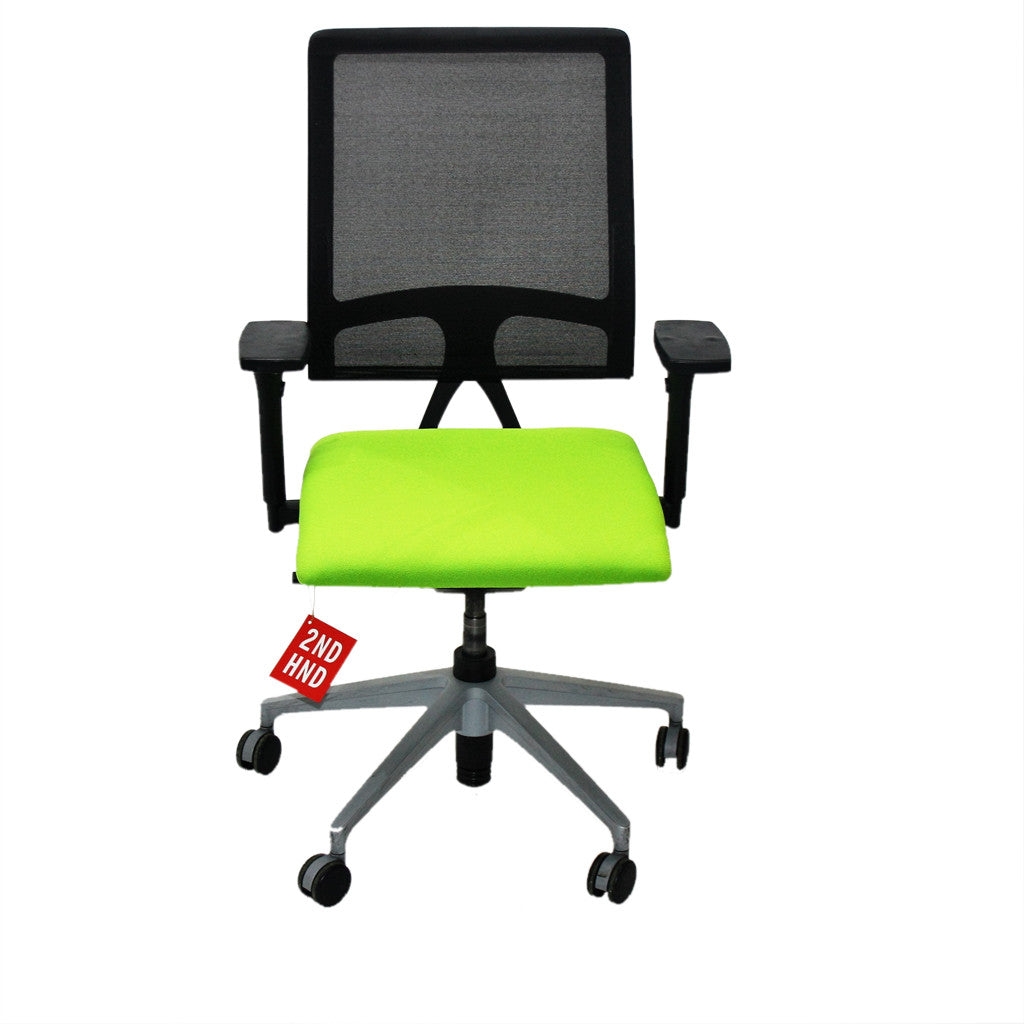 sedus open mind green task chair quality. Black Bedroom Furniture Sets. Home Design Ideas