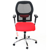 Ahrend 160 Type Red Chair with Aluminium Base