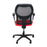 Ahrend 160 Type Red Chair with Black Base