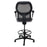 Ahrend 160 Type Draughtsman Chair with Grey Fabric Seat and Black Base