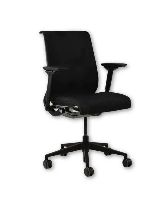 Steelcase Think Chair in New Black Fabric