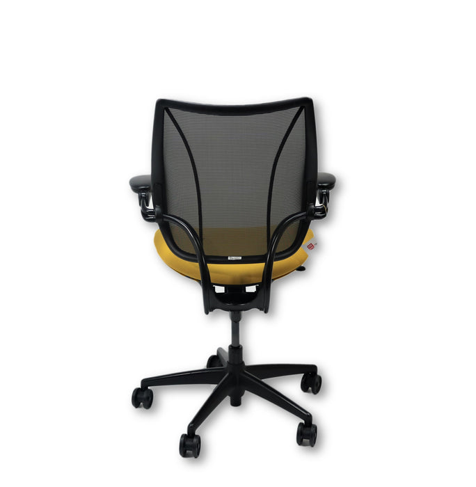 Humanscale Liberty Task Chair in new Yellow Fabric