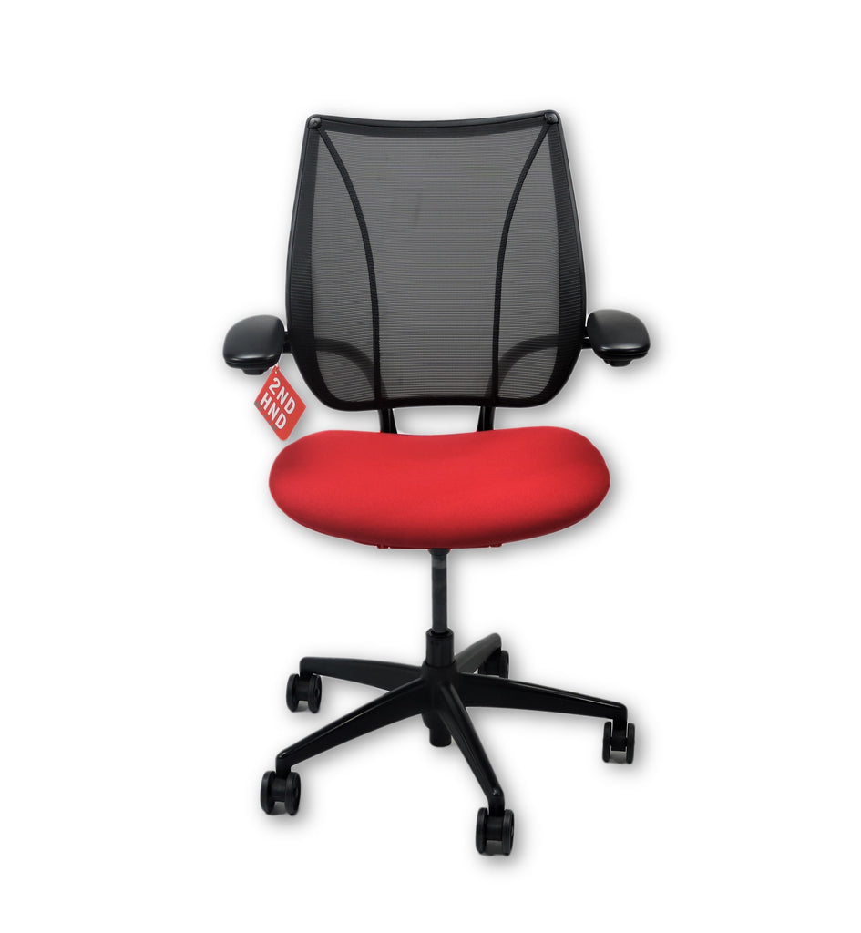 ... Humanscale Liberty Task Chair in new Red Fabric ...  sc 1 st  2ndhnd.com & Humanscale Liberty Task Chair in new Red Fabric u2013 2ndhnd.com ...