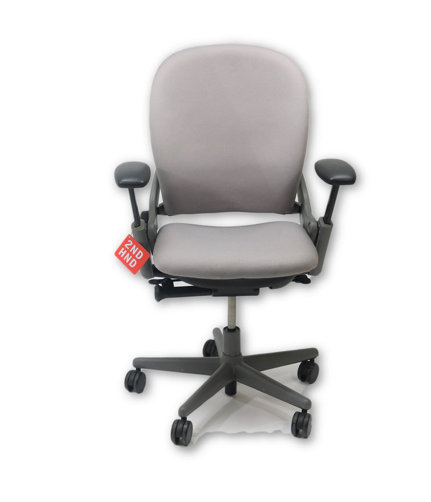 STEELCASE LEAP V1 CHAIR New Grey Fabric