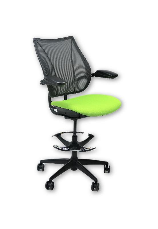 Humanscale Liberty Green Draughtsman Chair