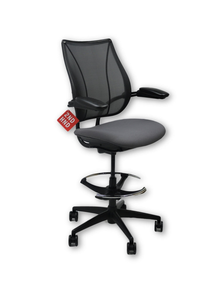 Humanscale Liberty Grey Draughtsman Chair