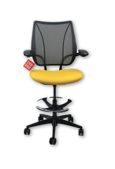 Humanscale Liberty Yellow Draughtsman Chair