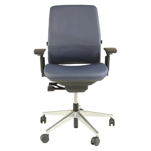 Steelcase Amia in New Blue Leather