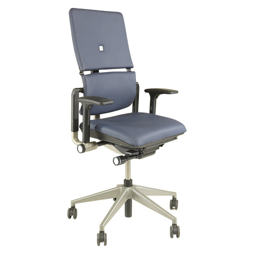 Steelcase Please V2 in New Blue Leather