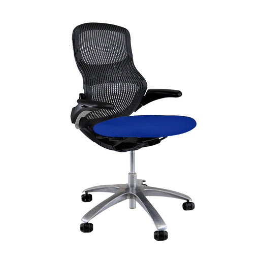 Knoll Generation - Black with New Blue Seat