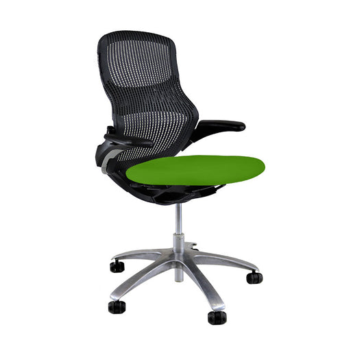 Knoll Generation - Black with New Green Seat