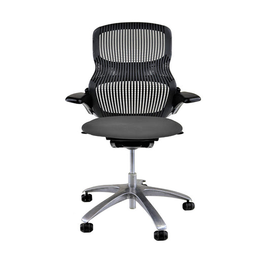 Knoll Generation - Black with New Grey Seat