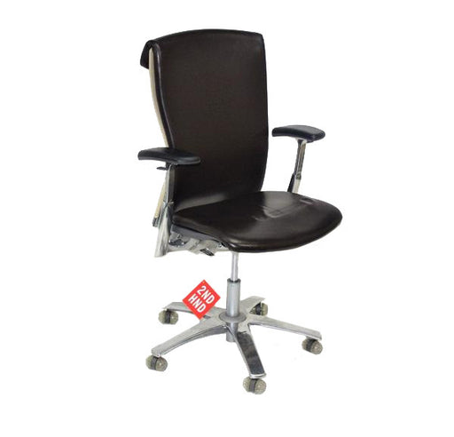 Knoll LIfe Leather Executive Task Chair