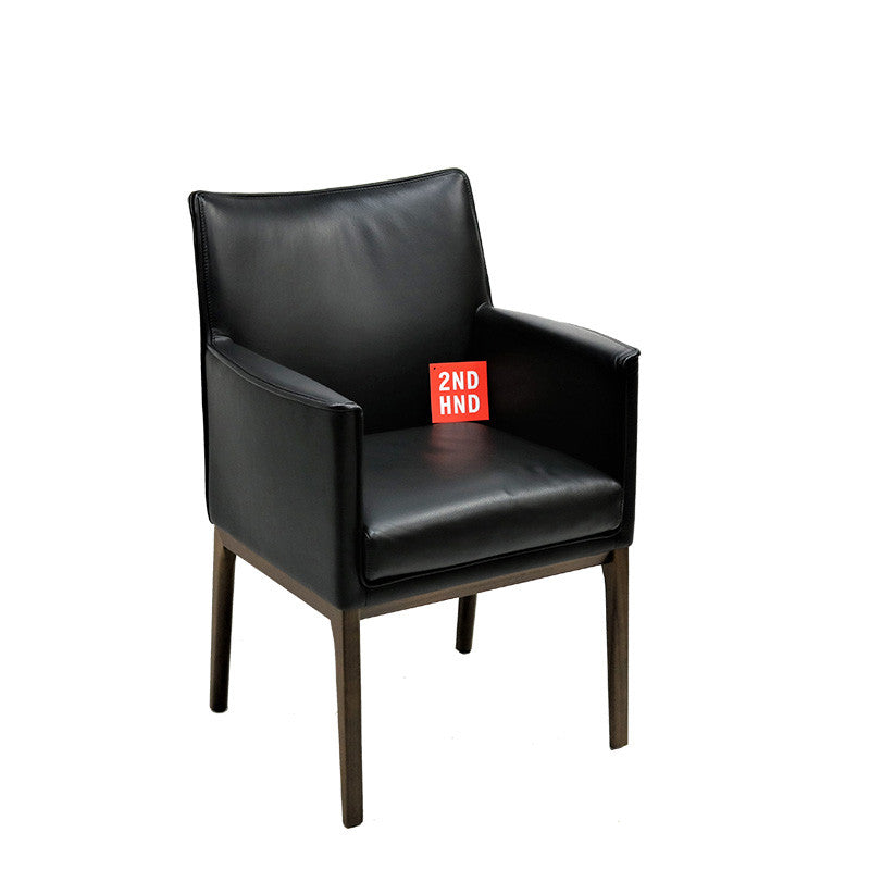 City T530 Leather Conference Chair