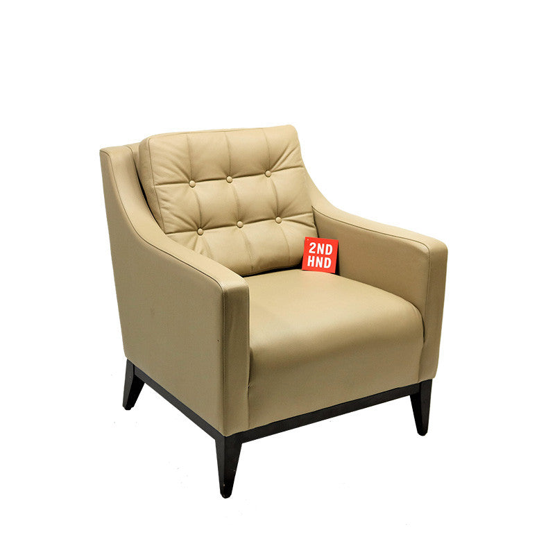 Hampton Reception Chair Leather