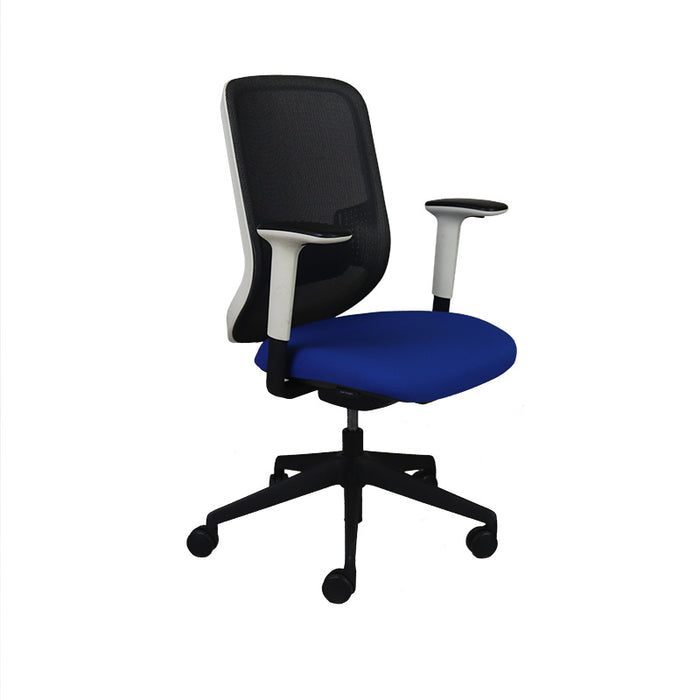 Orangebox DO Task Chair with New Blue Seat