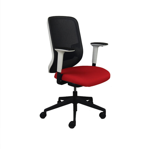 Orangebox DO Task Chair with New Red Seat
