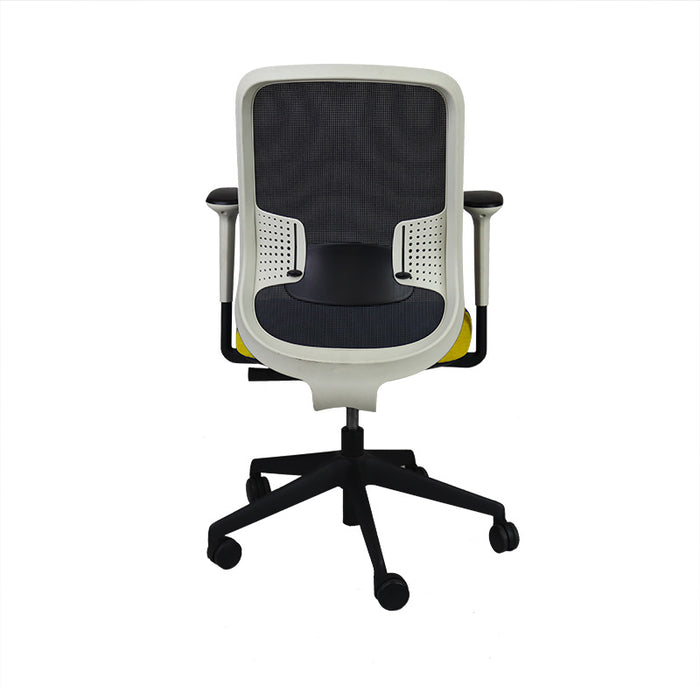 Orangebox DO Task Chair with New Yellow Seat
