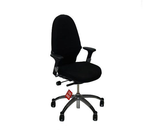 RH LOGIC 100 EXTEND MED BACK CHAISE DE BUREAU ERGONOMIQUE