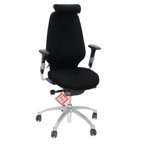 RH Logic 400 Hi-Back Ergonomic Office Chair with Headrest