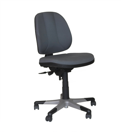 RH Logic Activ 3 Low Back Ergonomic Office Chair - Grey Fabric