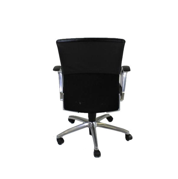 Sedus Chair Leather back Leather Seat seat Aluminium frame