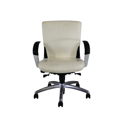 Sedus Chair in Leather with Aluminium Frame