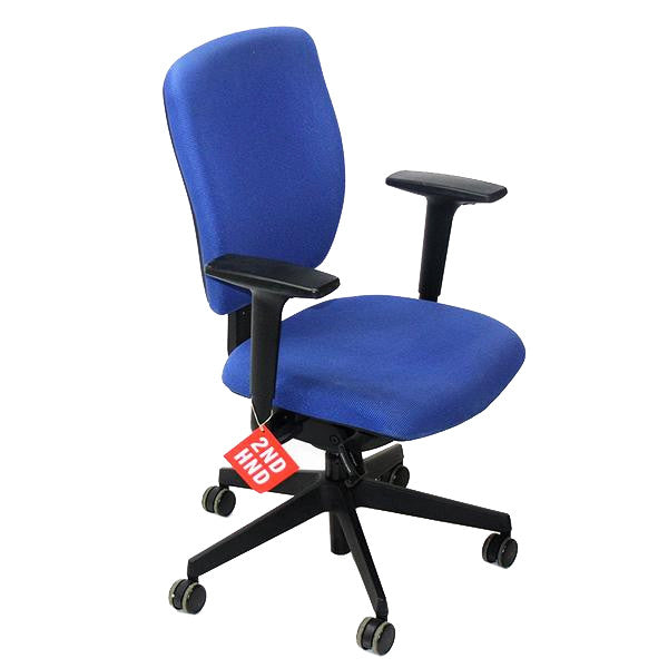 Senator Dash Task Chair Blue Fabric