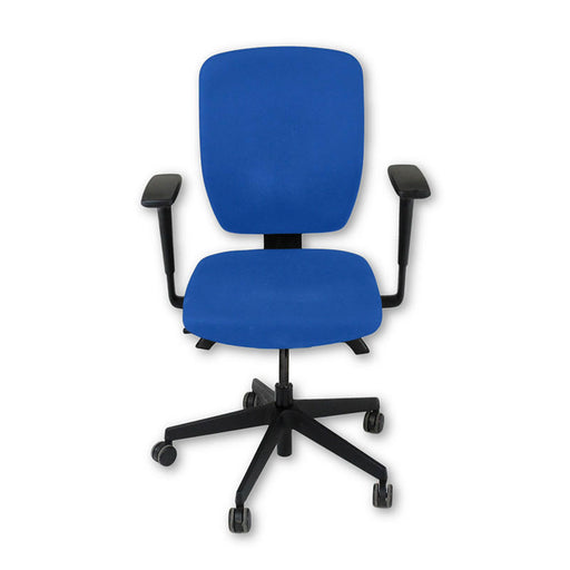 Senator Dash Task Chair in New Blue Fabric ( Fully Adjustable )