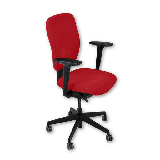 Senator Dash Task Chair in New Red Fabric ( Fully Adjustable )