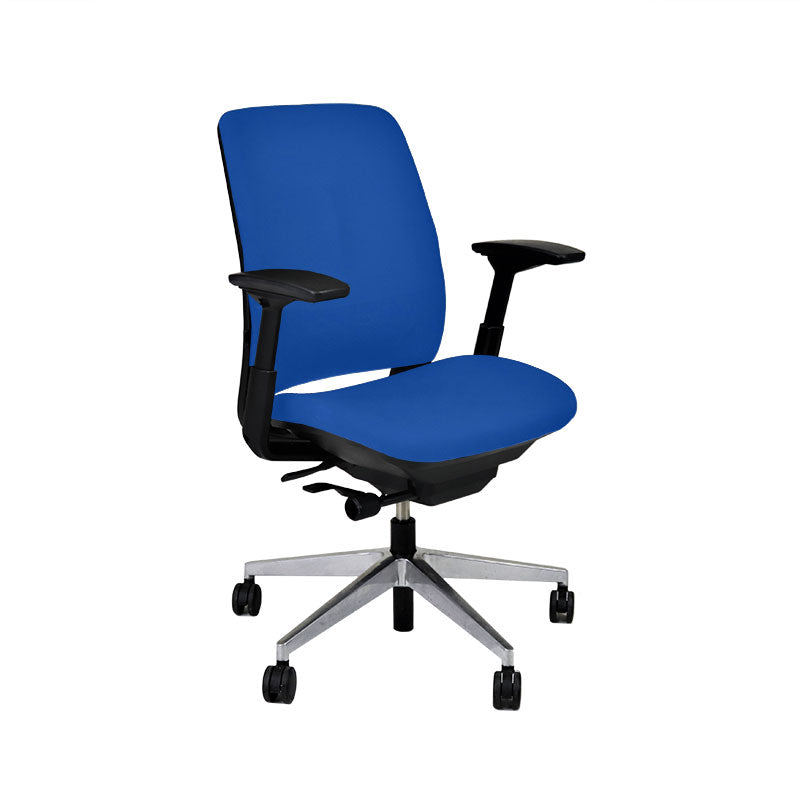 Steelcase Amia in New Blue Fabric