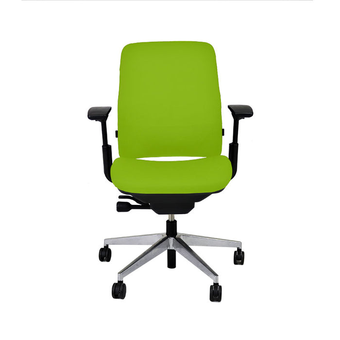 Steelcase Amia in New Green Fabric