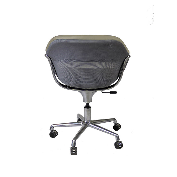 Steelcase Coalesse SW_1 Conference Chair in New Beige Leather