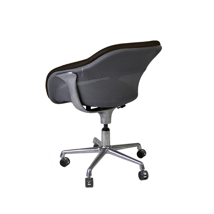 Steelcase Coalesse SW_1 Conference Chair in New Brown Leather