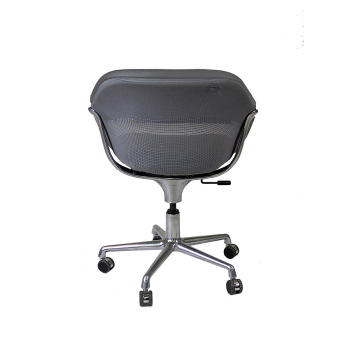 Steelcase Coalesse SW_1 Conference Chair in New Grey Leather
