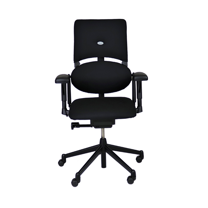 Steelcase Please V1 in New Black Fabric
