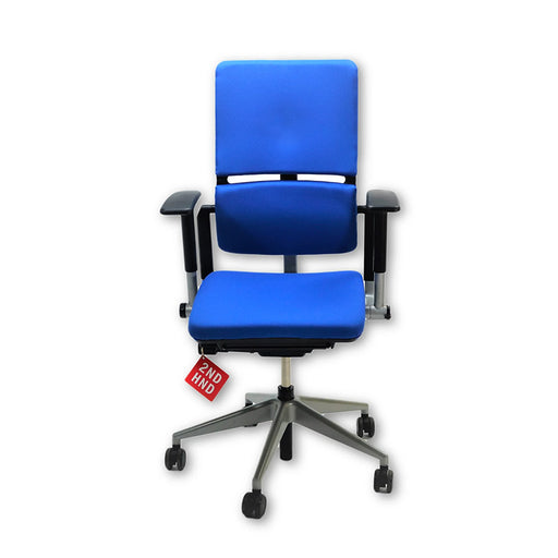 Steelcase Please V2 Chair New Blue  Fabric